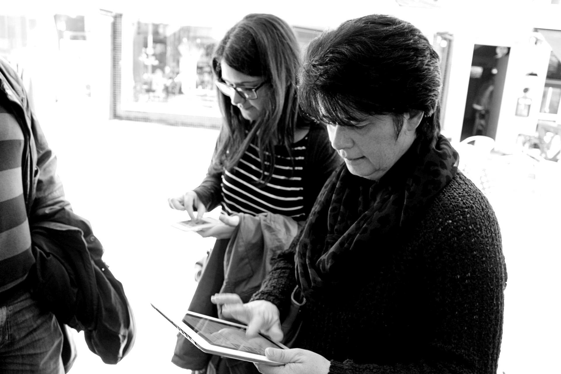 Ärger an der Siegbrücke - Tablet-Rallye durch die Siegener Innenstadt